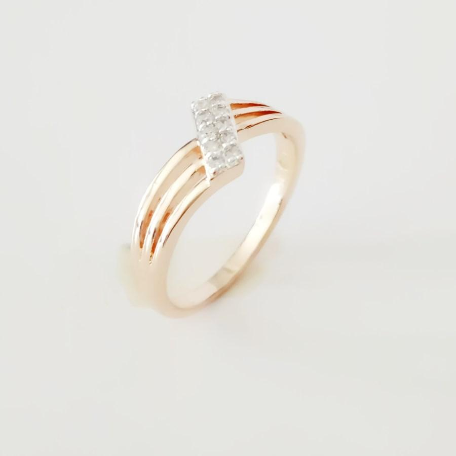 Top Fashion Rings 585 Gold Color Jewelry White Cubic Zirconia Rings Designs  For Women Gold and Silver Color