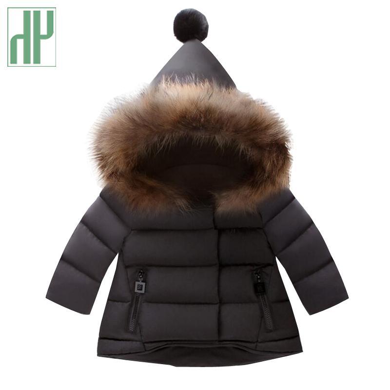 a31081414489 Toddler Girls Winter Coat Kids Parka Thick Coats Infant Children ...