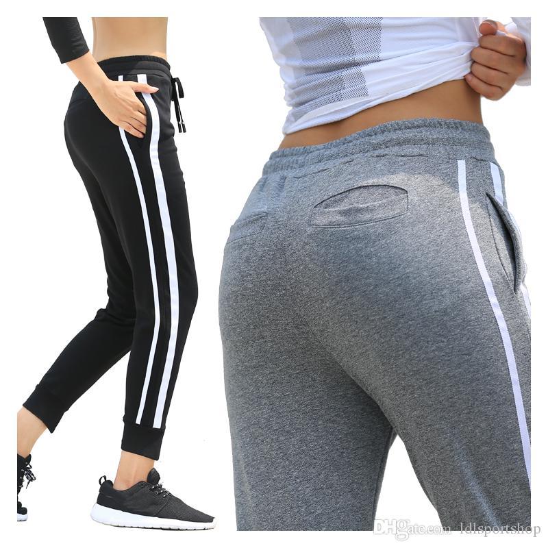 f507e08c8da14 Women Yoga Pants Breathable Fitness Sport Leggings Breathable Loose ...