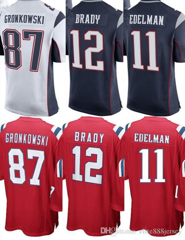 timeless design 8a32d 3d93d best price youth red tom brady jersey 7fd3b b5aae