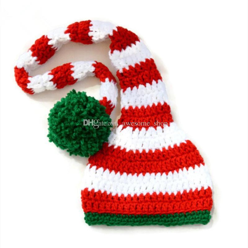 Acquista Cappello Adorabile Di Babbo Natale Cappello Lavorato A