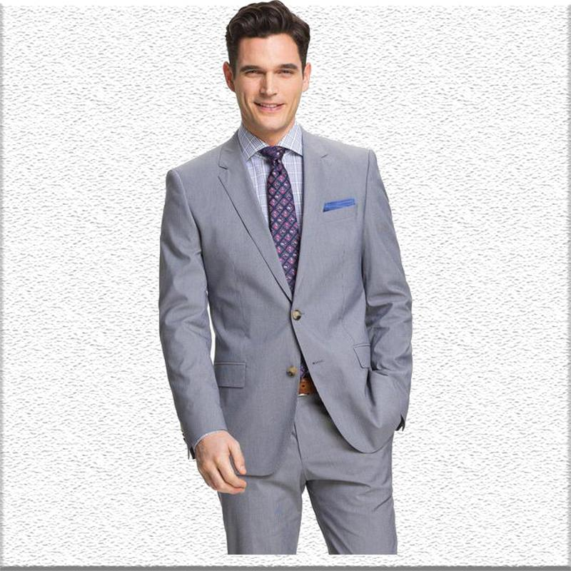 2019 2018 Latest Coat Pant Designs Grey Smart Casual Business