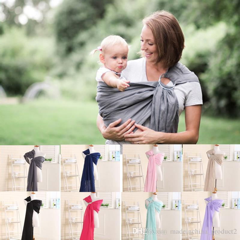 Discount New Baby Cotton Carriers Ring Slings Toddler Infant