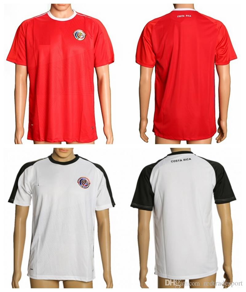 2019 2018 World Cup Costa Rica Soccer Jersey 10 Bryan Ruiz 12 Joel Campbell  19 Kendall Waston 21 Marco Urena 5 Celso Borges Red Football Shirt From ... 85a087a3f