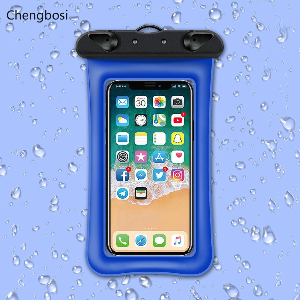 low priced 3fb94 4b7ec Universal Waterproof Phone Bag Pouch Case for IPhone X 8 7 6 5 Samsung S8  Note 8 Huawei P10 Xiaomi Redmi Water Proof Case