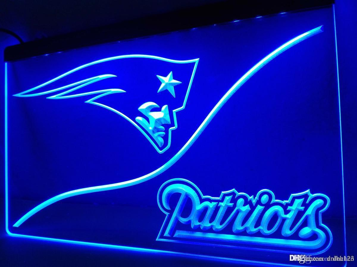 LD507b- England Patriot LED Neon Light Sign
