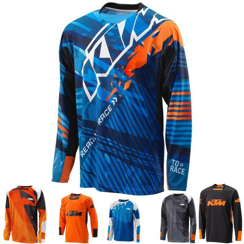 Acquista Motocross Jersey 2018 Mountain Downhill Bike Manica Lunga Ciclismo  Jersey DH MX RBX Abbigliamento Da Corsa MTB Off Road A  20.7 Dal Pretty05  ... dc8641930