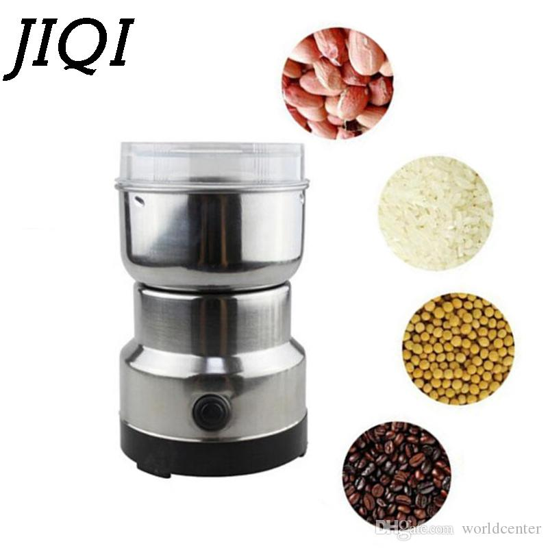2019 Mini Coffee Bean Grinders Stainless Steel Household Electric