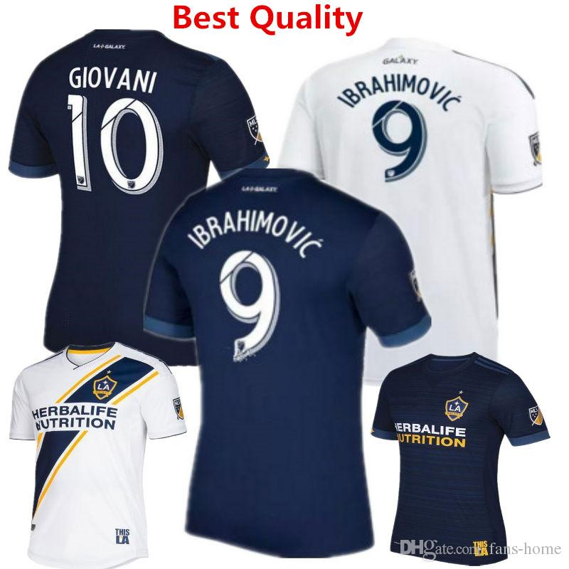 2019 Soccer Jersey Los Angeles Galaxy Camisetas De Futbol 2018 19 Gerrard  Ibrahimovic GIOVANI ZARDES ROGERS Football Shirts Home New Kits MLS From  Fans Home ... 037d3d4bc