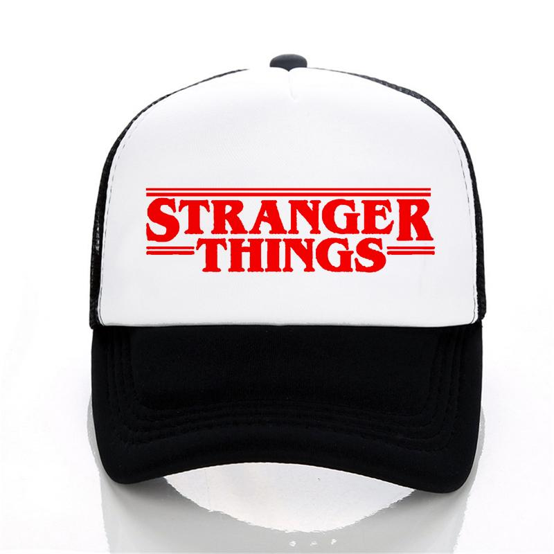 Men And Women Stranger Things Baseball Cap Summer Leisure Mesh Cap  Adjustable Outdoor Trucker Cap Stranger Things Baseball Cap Trucker Cap  Online with ... 0523484b0d29