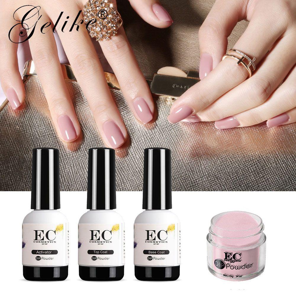 10G Acrylic Nails Dip Powder Gel Polish Manicure Dipping Nail ...