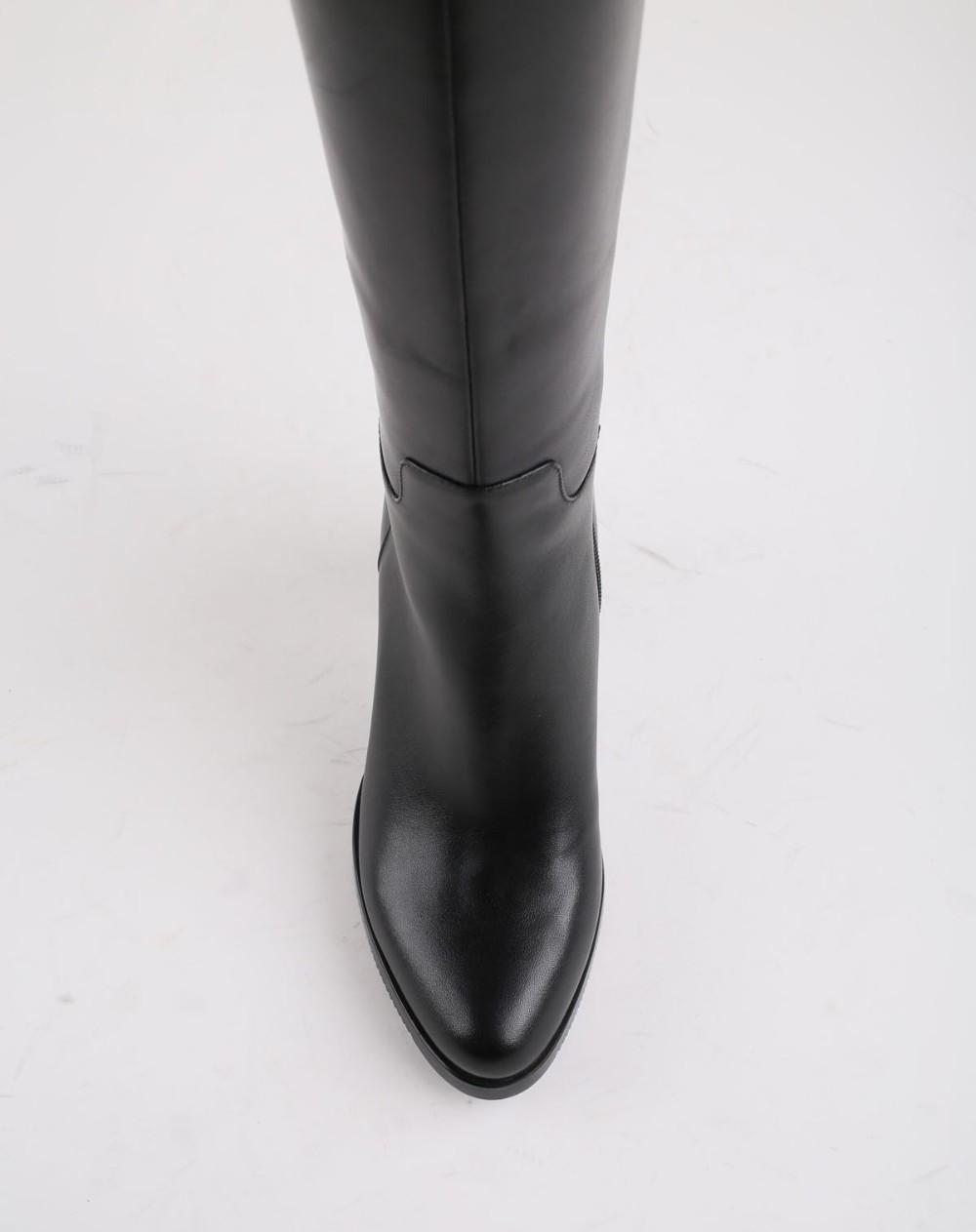 Bottes D'hiver Chaud Laine Fourrure Femmes Vache En Cuir Chaussures Longue Main À La Main Noir Genou-Haut La Russie Bottes Chaussures Neige Botas VC002
