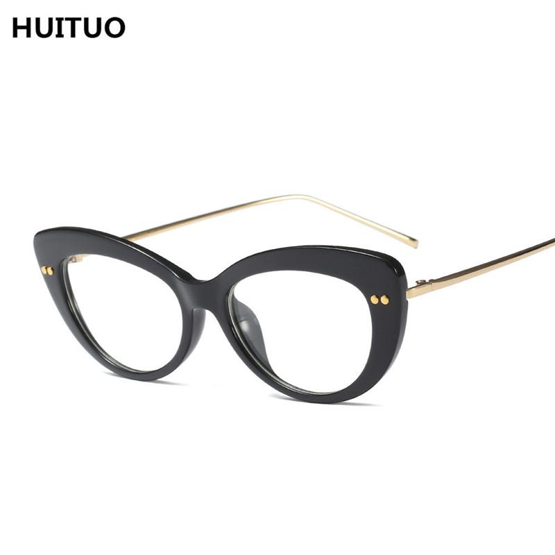 2018 Huituo European And American Fashion Cat Eye Glasses Quality ...