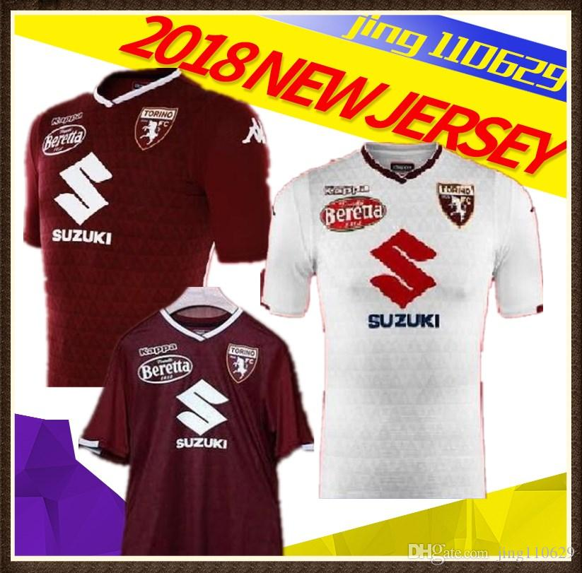 f13b0141da9de 2019 S 2XL 18 19 Torino Futbol Camisa Turin Belotti Ljajic I.Falque Baselli  Soccer Jerseys Football Camisetas Shirt Kit Maillot Serie A Fr From  Jing110629