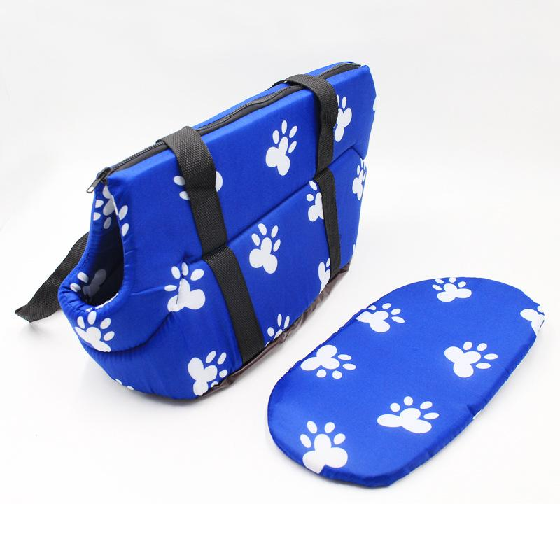 Manufacturer Pet Carrier Dog Bags Korean Printed Pet Backpack for Small Dogs Cat Chihuahua Soft Sponge Portable Travel Carrying Handbag