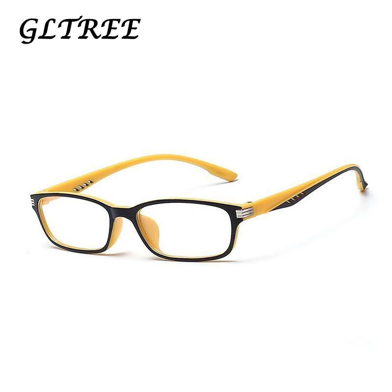 2edef31ed Compre GLTREE Óculos De Armação Completa Óculos De Sol Mulheres Prescrição  Óptica Semi Aros Óculos De Armação Óculos De Sol Dos Homens Óculos Feminino  ...
