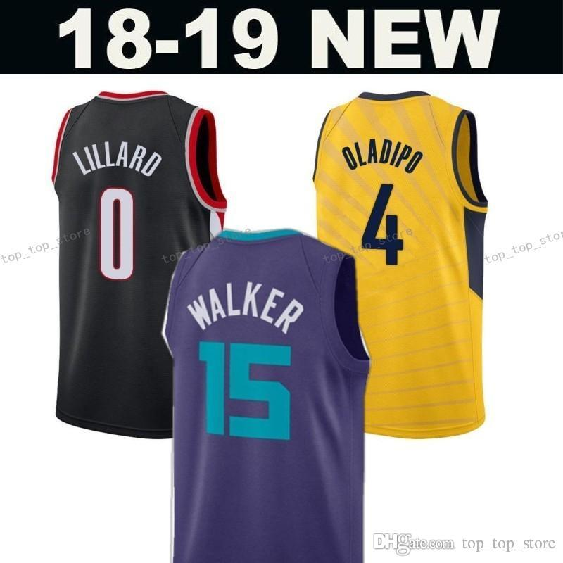 a4853bb67c4 ... basketball jersey available 0ccd7 831e2  cheap pacers 4 victor oladipo  indiana blazers 0 damian lillard portland trail hornets 15 kemba walker