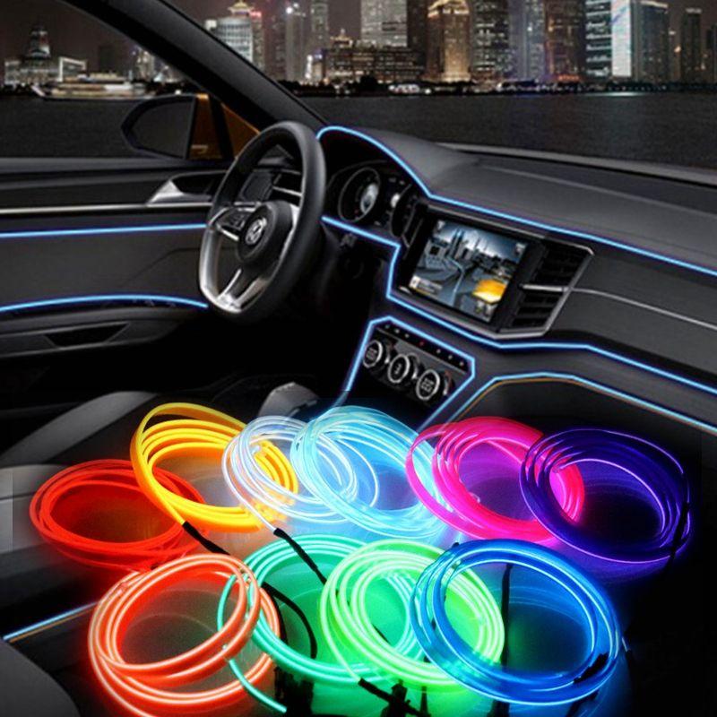 Großhandel El Draht Blitz Seil Rohr Kabel Led Streifen Flexible Neon ...