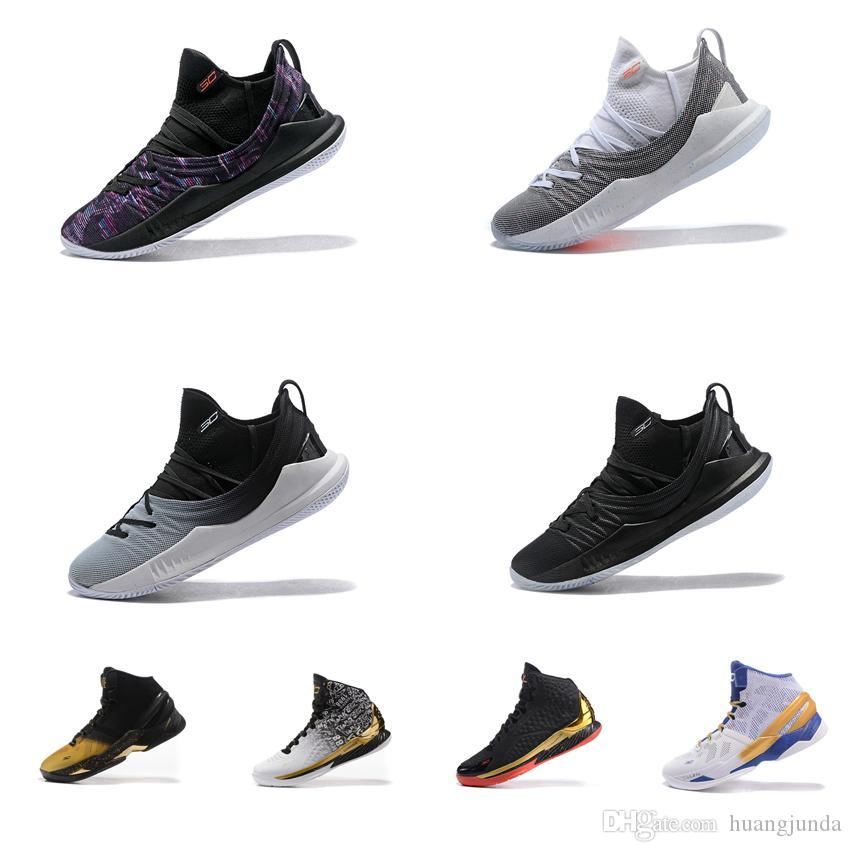 Cheap Women Curry 5 Low Cut Basketball Shoes MVP Championship Black Gold  Purple Youth Kids Boys Girls Stephen Currys Sneakers Boots For Sale UK 2019  From ... 6407a8abb