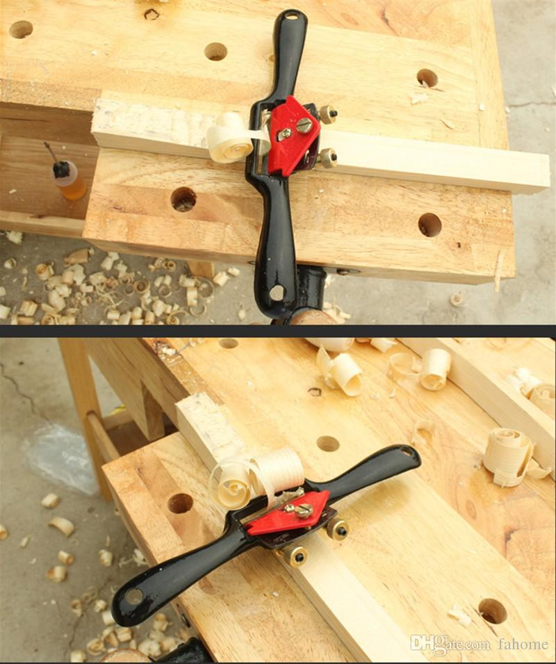 2019 9 215mm Adjustable Hand Planer Woodworking Cutting Edge Planer