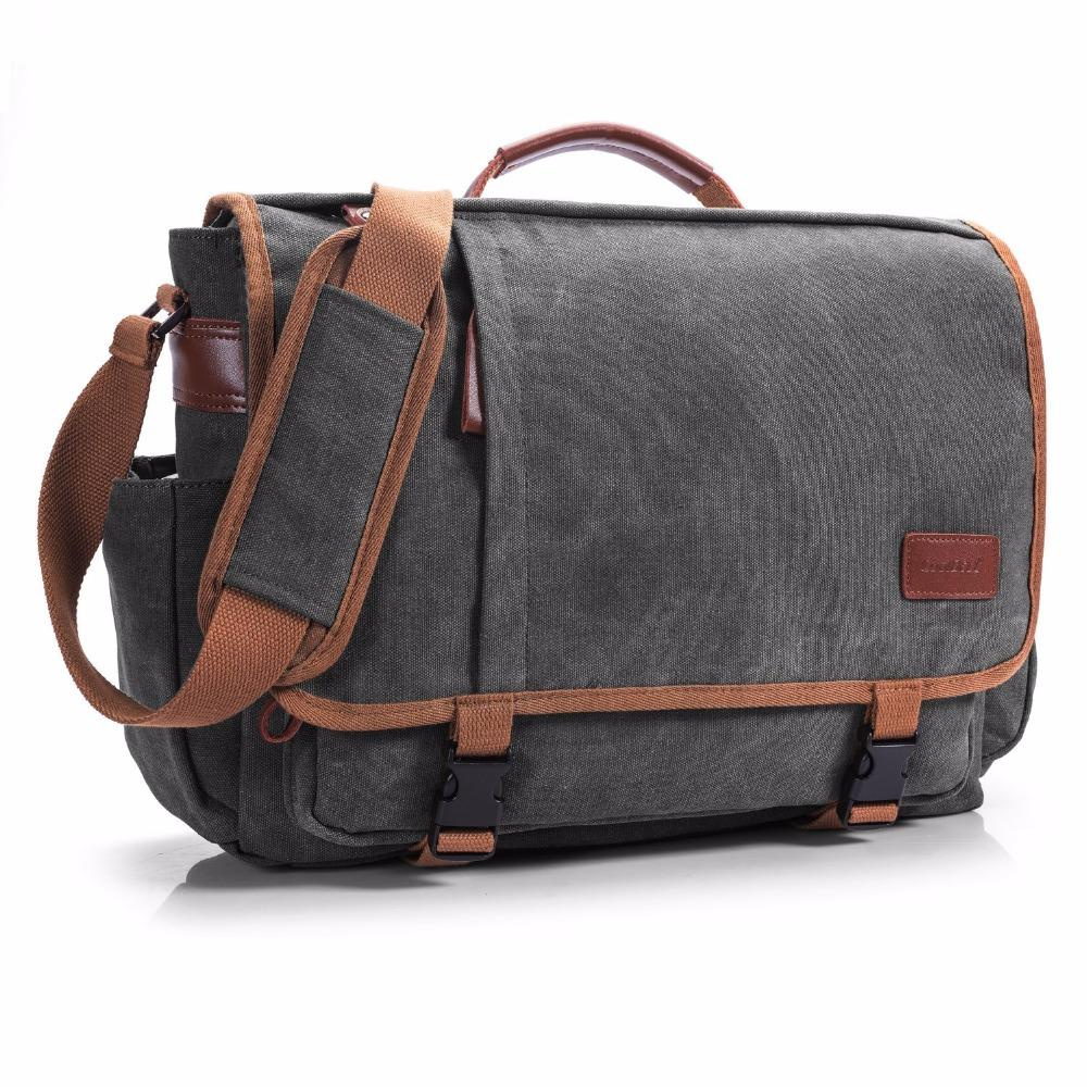 8944df38fe4e CoolBell Brand Laptop Messenger Bag Men 15.6 Inch Canvas Briefcase Shoulder  Bag Women Handbag Multifunctional Travel Canada 2019 From Hello01