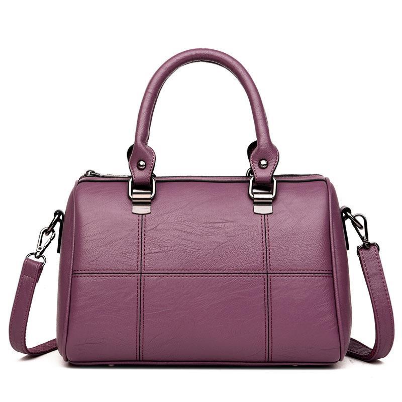 0744d5d978c0 2018 New Women Leather Tote Bag Ladies Brand HangBags For Women Designer  Vintage Tassel Large Messenger Bags NB041 Satchel Bags Ladies Purse From ...
