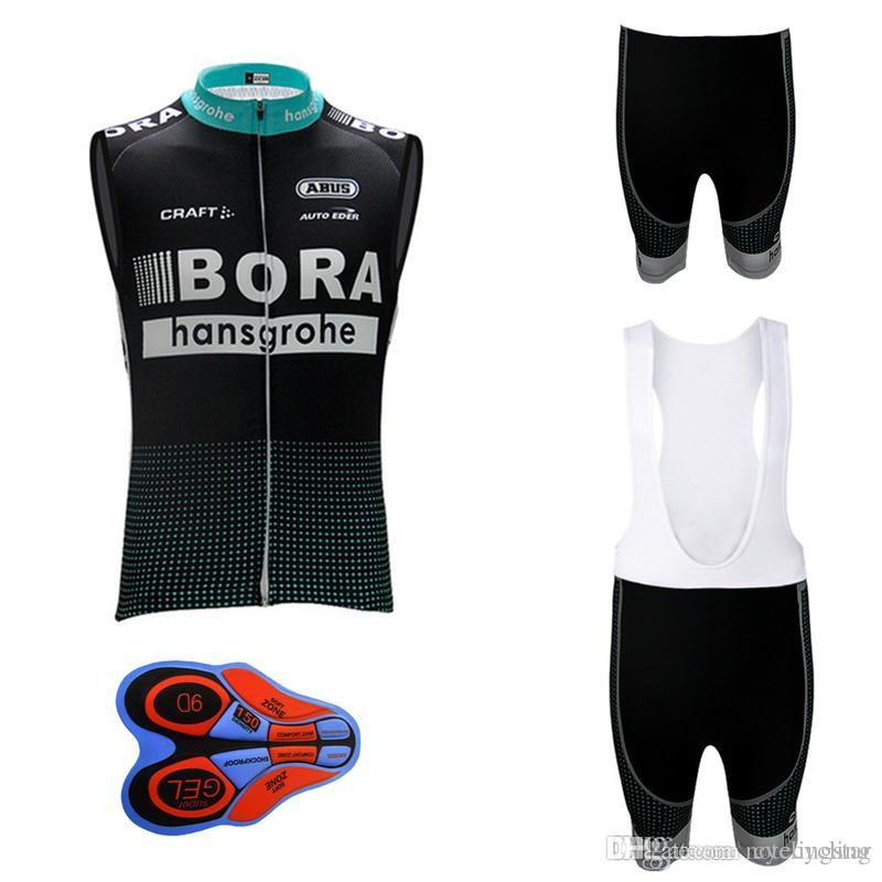 09c888d64 2018 Bora Cycling Sleeveless Jerseys Ropa Ciclismo Men Cycling Clothing Pro Bicycle  Sets Mountain Bike Wear Summer Maillot Ciclismo D0801 Cycle Jacket Bib ...