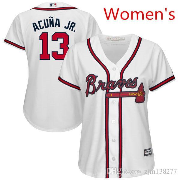 online retailer 7a4b8 af599 mens atlanta braves customized cream jersey