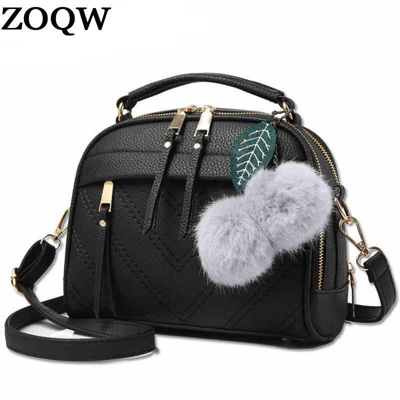 e6b79cf773 Women Messenger Bags New Spring Summer 2018 Inclined Shoulder Bag Women S  Leather Handbags Bag Ladies Hand Bags LX451 Cheap Designer Handbags Black  Handbags ...