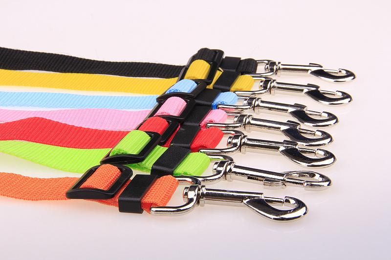 Pet Cat Dog Safety Vehicle Car cachorro Seat Belt mascotas dog Seatbelt Harness Lead Clip Levert c471