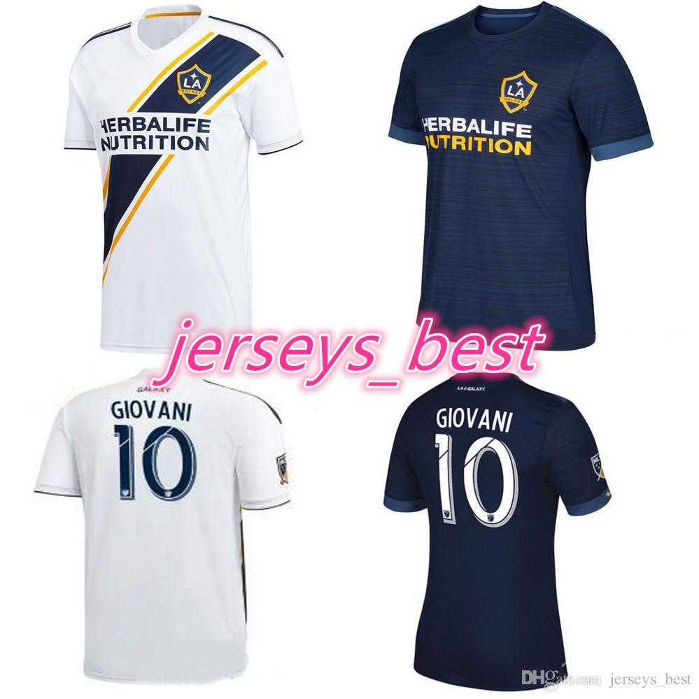 LA Galaxy Camiseta De Fútbol 2018 GERRARD 18 19 Los Angeles Galaxy Camisa  KEANE GERRARD GIOVANI ZARDES ROGERS LA GALAXY Maillot De Pie Por  Jerseys best 46d999db2139a