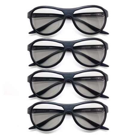 5ab6134996 Compre 4 Unids / Lote Reemplazo AG F310 Gafas 3D Polarizadas Gafas Pasivas  Para LG TCL Samsung SONY Konka Reald 3D Cinema TV Computadora A $21.11 Del  Patlee ...