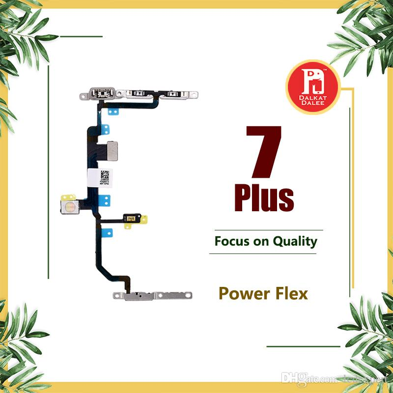 "Power On Off Button Switch Connector Flex Cable For Apple iPhone 7 Plus 5.5 Inch 5.5"" Repair Replacement Parts"