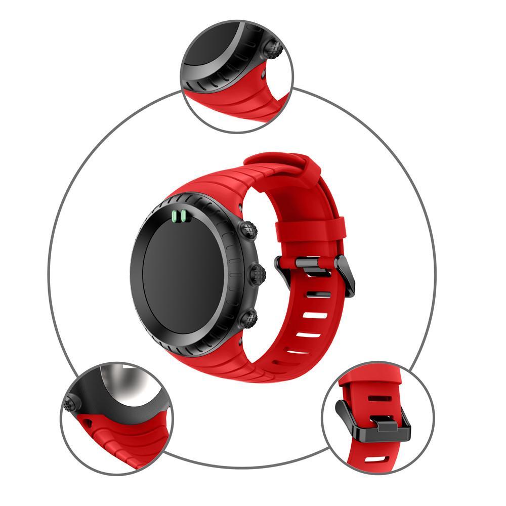 Vente en gros - Nouvelle mode montre 2018 remplacement Sports Silicone Bracelet Strap Band pour Suunto Core Watch Watchband accessoires