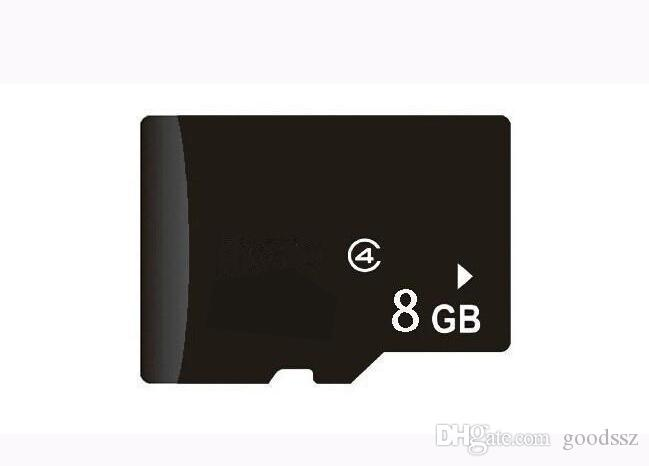 100% Real 8GB Memory Trans flash TF Card Genuine Capacity 8GB with Adapter Retail Package MOQ