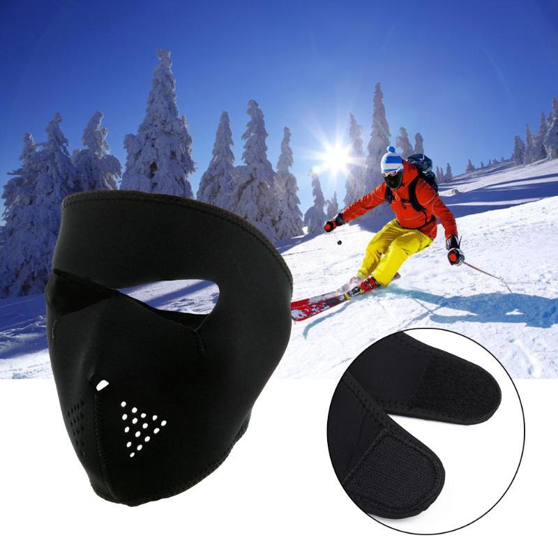 78bdaa02 2019 Black Unisex Cycling Face Mask Skiing Hiking Hunting 2 In 1 Reversible  Neoprene MTB Mountain Road Bike Bicycle Full Face Mask From Suipao, ...