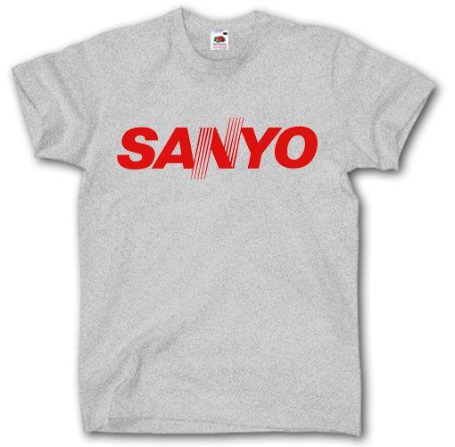 4cd83129d88 Wholesale Discount Sanyo Logo Shirt S 3xl Vintage Old Audio Video Air  Condition Technology Japan T Shirt Cotton Men Short Sleeve T Shirts White T  Shirts ...