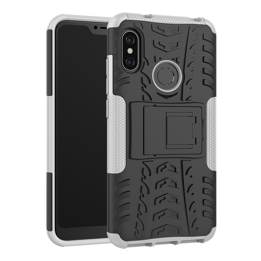 check out 26139 665ab For Xiaomi Redmi 6 Pro Cover Shockproof Luxury armor Back Case For Xiaomi  Redmi 6 Pro Fundas Xiaomi Mi A2 Lite Shells bags