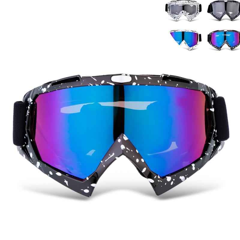d7c499047e94 Motorcycle Goggles Windproof Glasses Goggles Motocross Protective Gears  Helmet Clear Lenses Skiing Outdoor Riding Motor Best Sunglasses For Bikers  Best ...