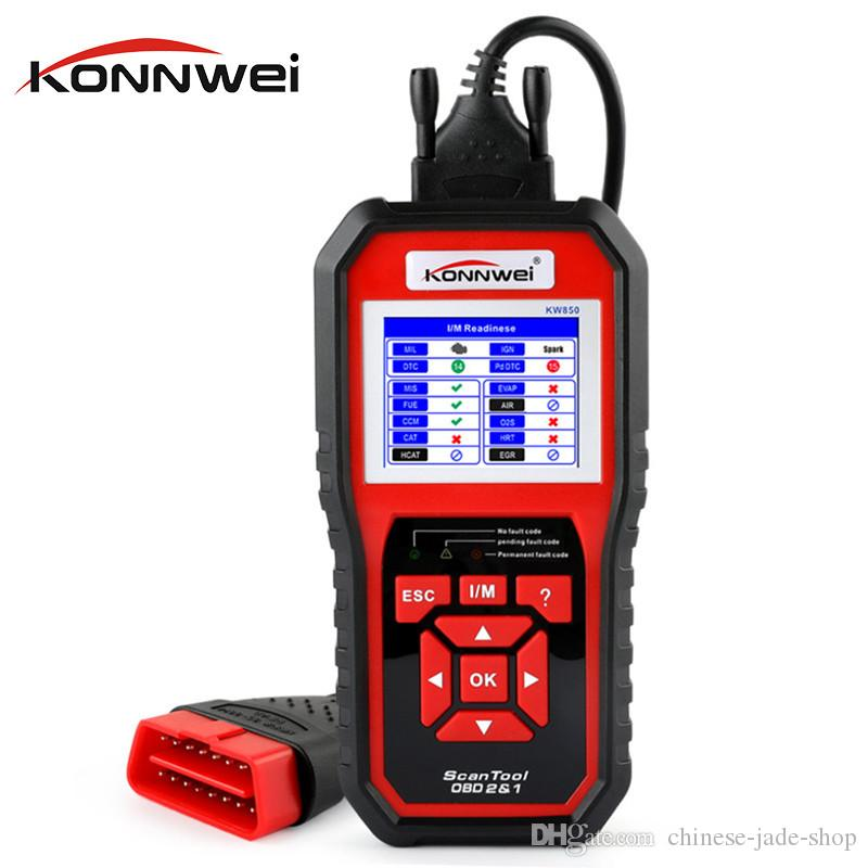 KONNWEI KW850 OBD2 OBD 2 Automotive Scanner Universal Scan tool for Engine Auto Code Reader Diagnostic Tool