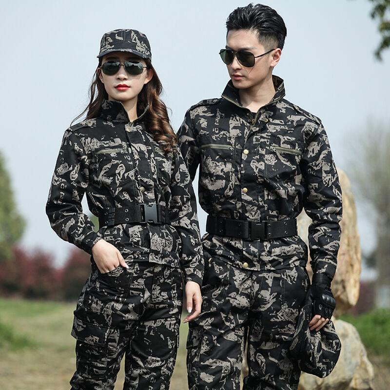 Men's Tactical Jacket Sets Uniform Outdoor Camouflage Hunting Suit Army Combat Suit Men Sports Hiking Training Sets