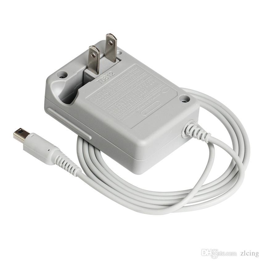 detalhes de qualidade superior sobre parede home viagem carregador de bateria ac adaptador para nintendo dsi / xl / 3ds / 3ds xl frete grátis