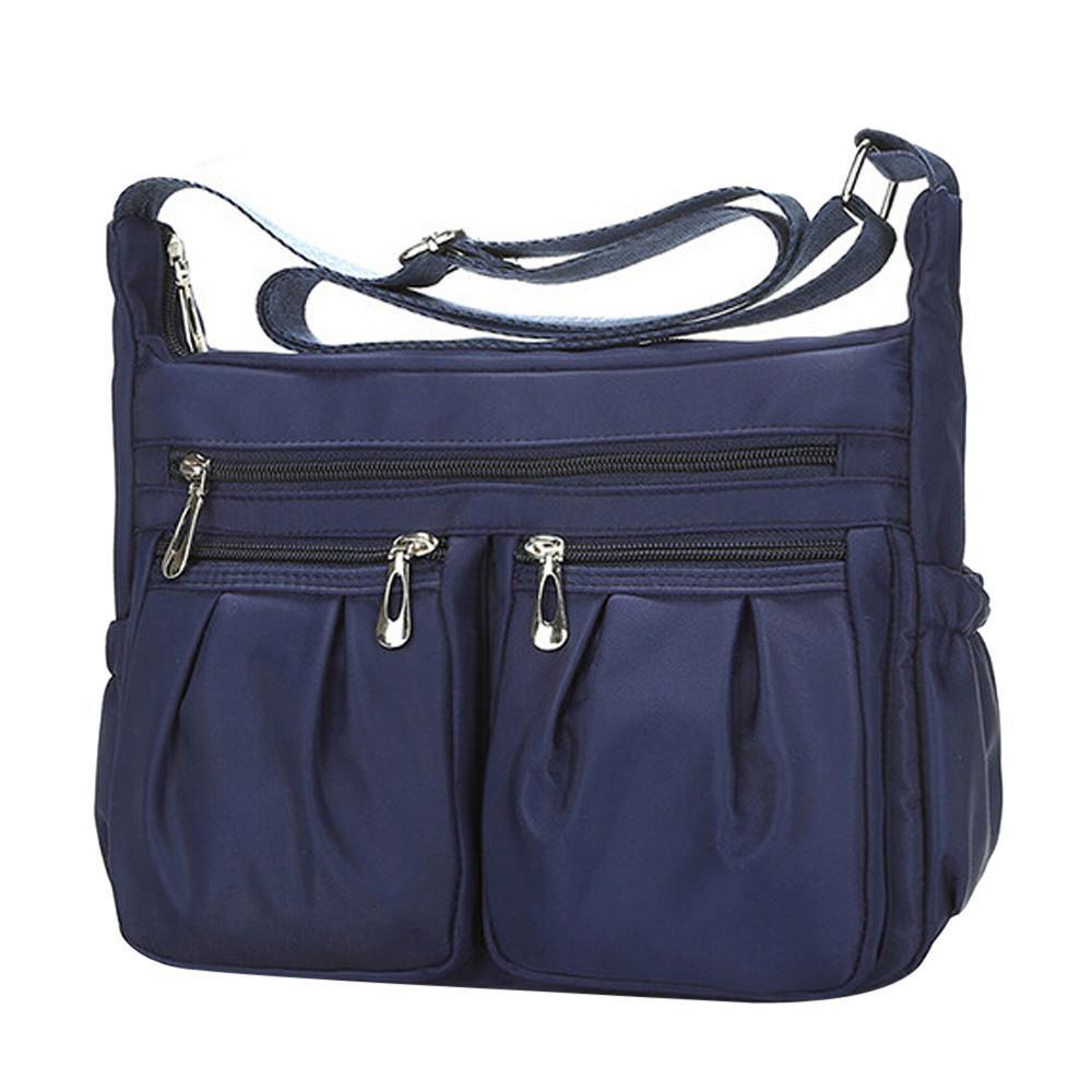49f7b751ce3 Women S Handbags Tablets Bags Fashion Solid Color Zipper Waterproof Nylon Shoulder  Bag Cross Body Bag Bolsa Feminina Ladies A8 Y18102604 Reusable Shopping ...