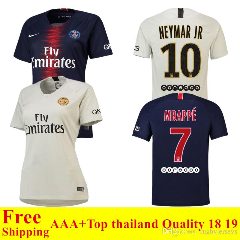 2019 2018 2019 New Psg Jersey 18 19 Paris Home Away Soccer Jersey CAVANI  Football Shirts VERRATTI Men Camiseta MBAPPE Maillot De Foot Women From ... 9d19e0c82