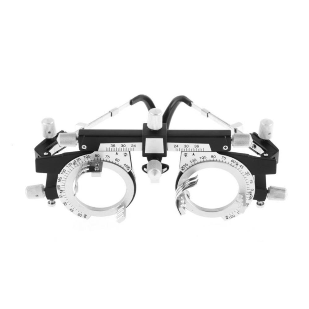 403588a0ab0ca2 Acheter Optométrie Opticien Cadre D essai Entièrement Réglable Cadre  Optique D objectif D essai Léger Noir Équipements De Test Visuels 2018  Nouveau De ...