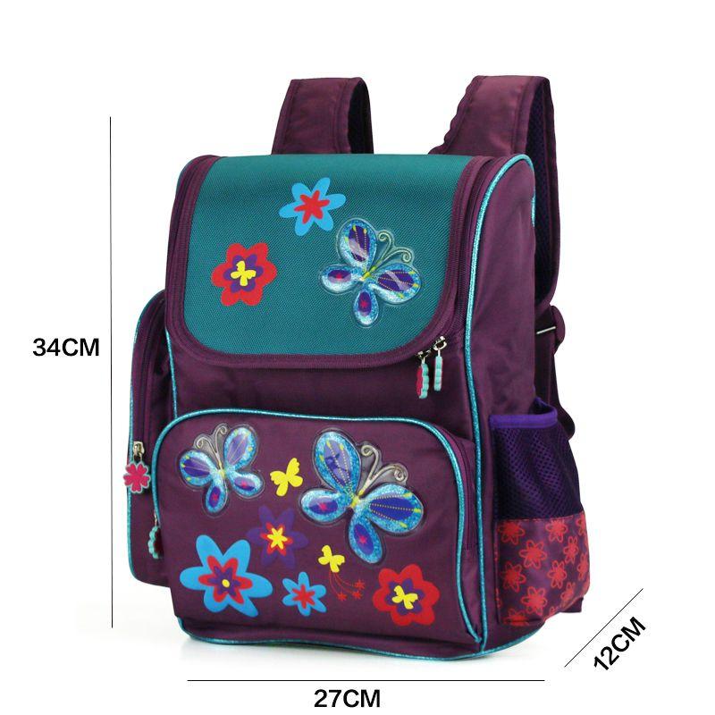 6e1a0e5855 JASMINESTAR Children S School Bags Orthopedic Backpacks Large Capacity  Primary Grade 1 3 5 Kids Butterfly School Bag For Girls Bags Backpack  Leather ...