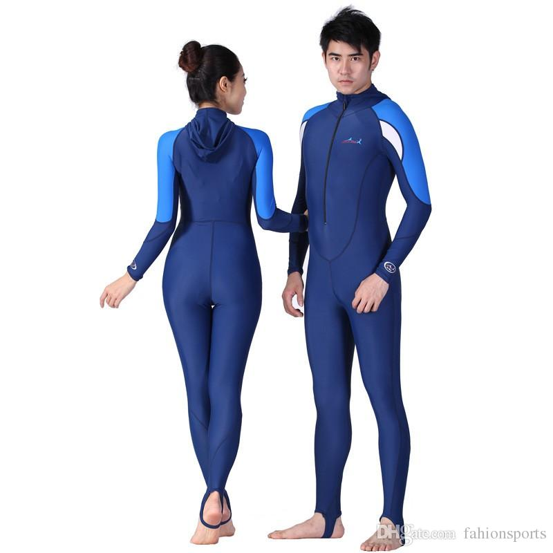 Surf Wetsuit Hommes Surf Costume Femmes Costume humide pour la natation plongée Maillot de bain Rash Garde swimwear Maillot de natation chasse sous-marine