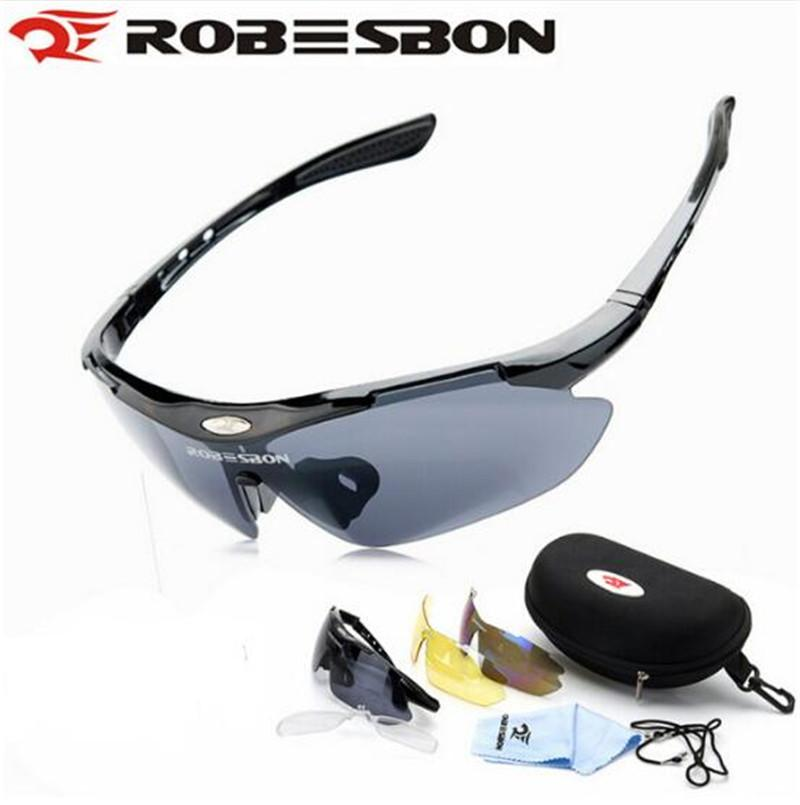 1be9538dd694 ROBESBON Motorcycle Cycling EyewearBicycle Men Sunglasses Sport Glasses  Motorcycle Glasses Protective Goggles 3 Lenses UK 2019 From Ayintian
