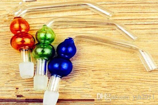 Accessoires bord gourde narguilés gros verre bongs brûleur à huile en verre Pipes Pipes eau Rigs huile fumeur