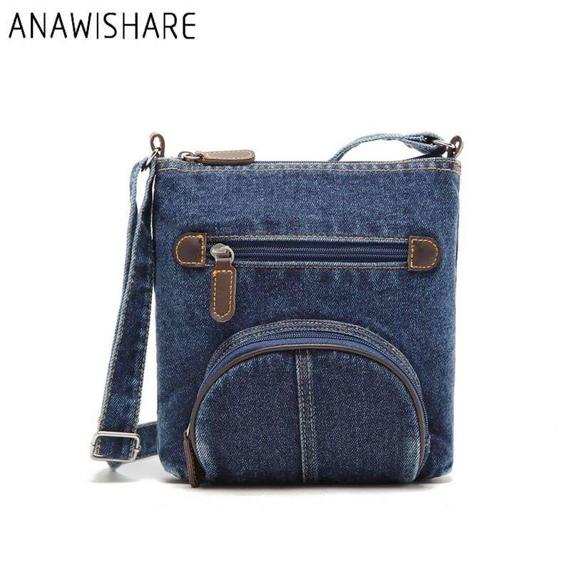 ANAWISHARE Women Messenger Bags Canvas Print Cross Body Shoulder Bags Ladies  Small Tote Handbags High Quality Bolsos B0009 Bag Neoprene Bag Double Bag  in ... eca9206ebf